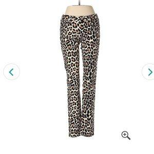 Kate Spade barely worn cheetah print jeans